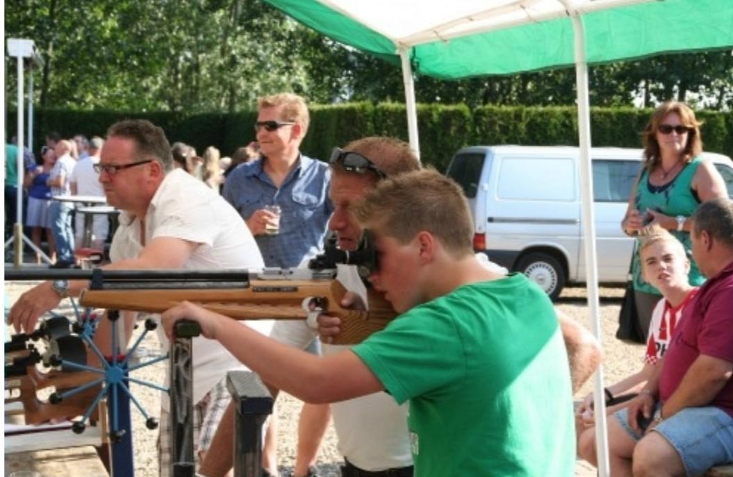 Op 29 juli organiseren we weer een dorpsschuttersfeest.