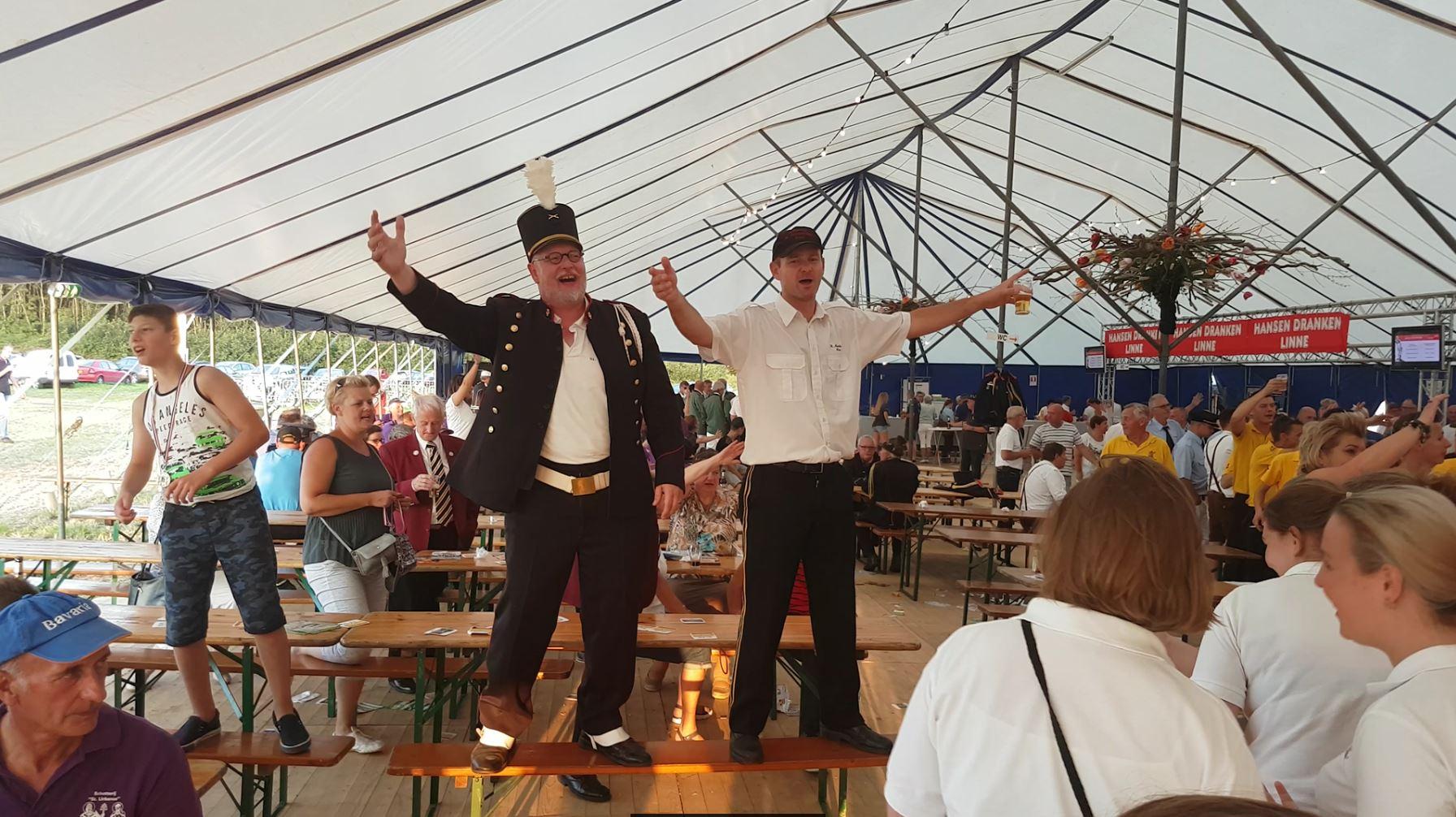 Bondsschuttersfeest Herkenbosch 27 augustus 2017